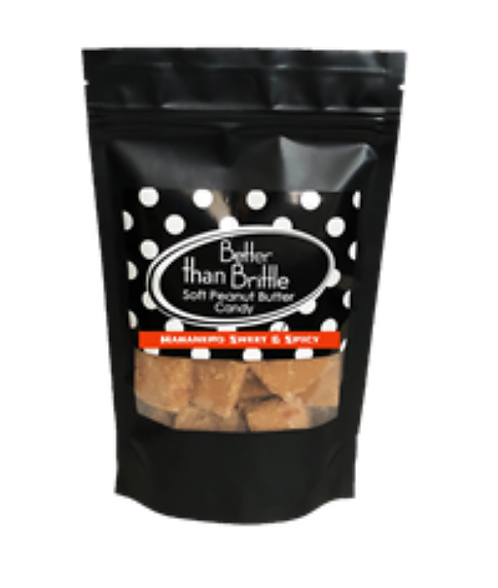 Habanero Sweet & Spicy Gourmet Peanut Butter 4oz. Bag