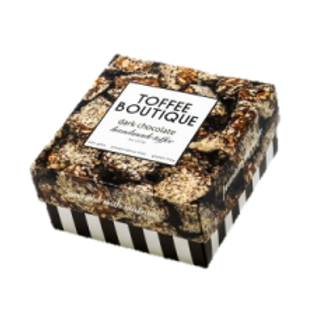 Dark Chocolate Gourmet English Toffee 8oz. Box