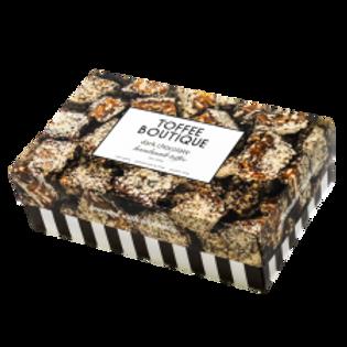 Dark Chocolate Gourmet English Toffee 16oz. Box
