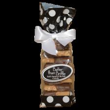 Chocolate Dipped Gourmet Soft Peanut Brittle 12 oz. Bag