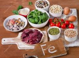 Alternatives végétales pour le manque de Fer