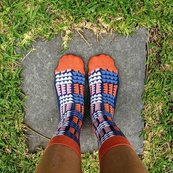 The Funky Blobalina Socks