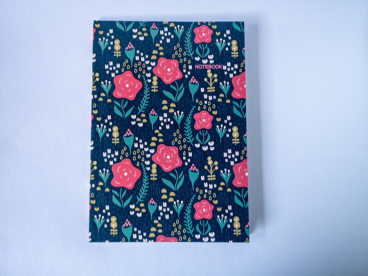 Night Garden A5 Notebook