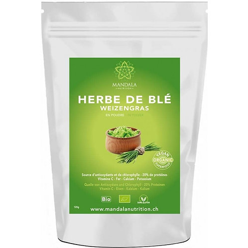 Herbe de blé BIO d'Allemagne