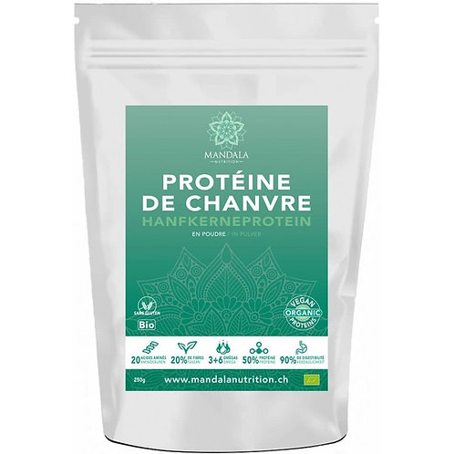 Protéine de chanvre BIO de France