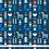 Thumbnail: Scandinavian Christmas Fabric