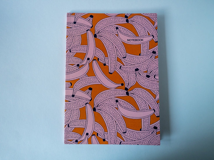 Going Bananas A5 Notebook