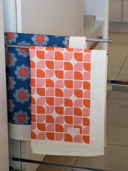 Sunset Printed Tea Towel Bundle