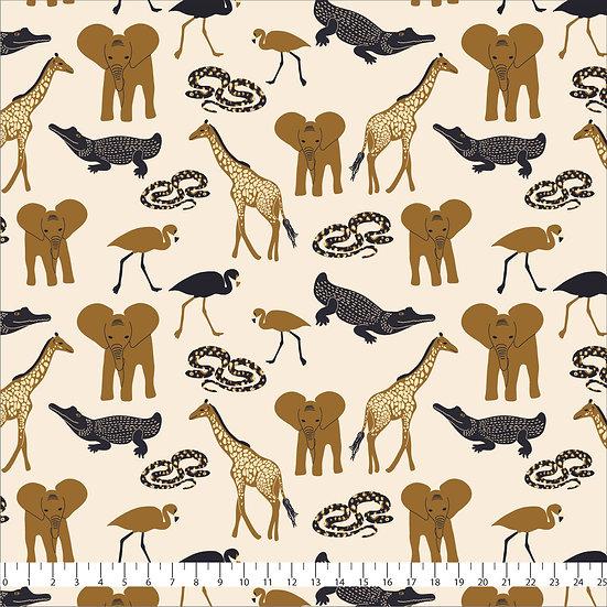 African Safari Fabric