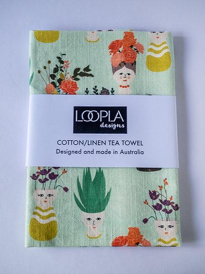 Planthood Handmade Tea Towel