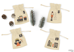 Advent Pouch Mockup