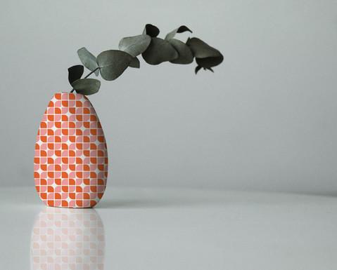 Four Squared, vase mockup