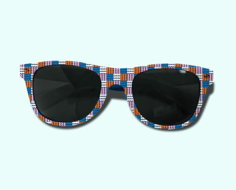 Funky Blobalina, sunglasses mockup
