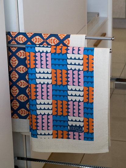 Colour Pop Printed Tea Towel Bundle