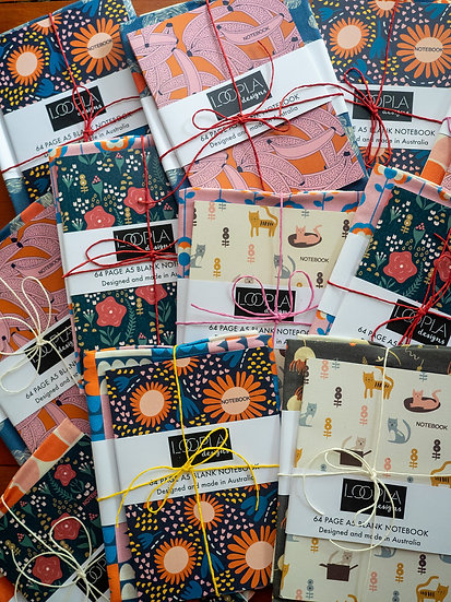 Pick Your Own Tea Towel and Notebook Bundle