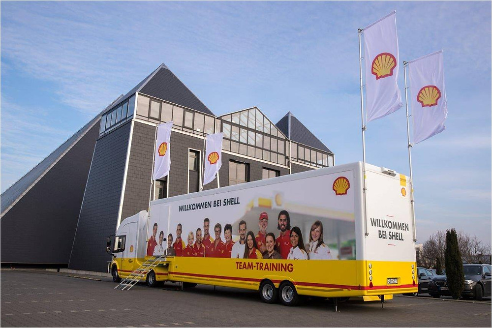 "Shell-Roadshow ""Willkommen bei Shell"""