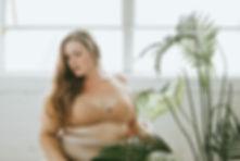 Femme en sous-vêtements