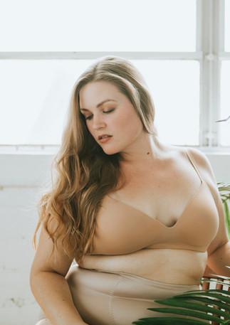 Woman in Underwear