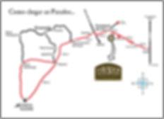 Mapa de Localização Parador Casa da Montanha