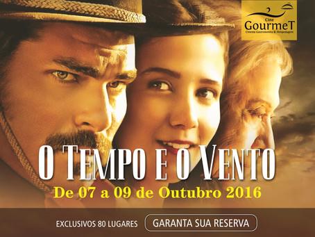 Cine Gourmet Outubro - O Tempo e o Vento