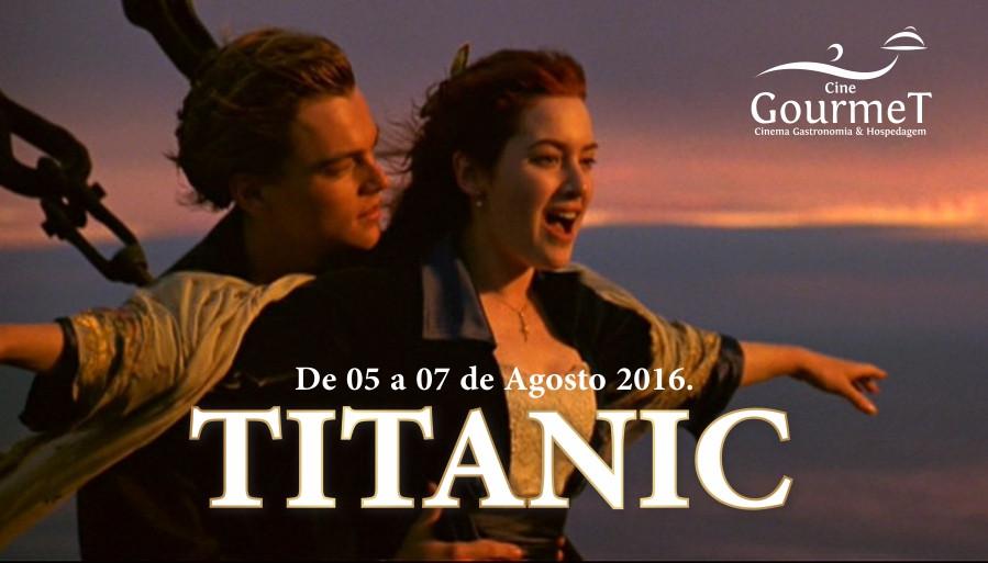 Titanic no Cine Gourmet em Gramado