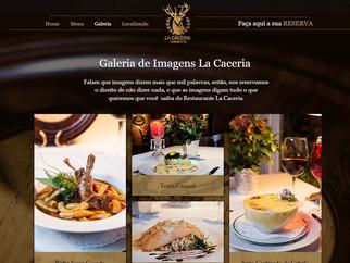 La Caceria em Gramado de site novo!