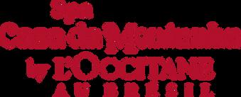 logo Spa Loccitane do hotel Casa da Montanha