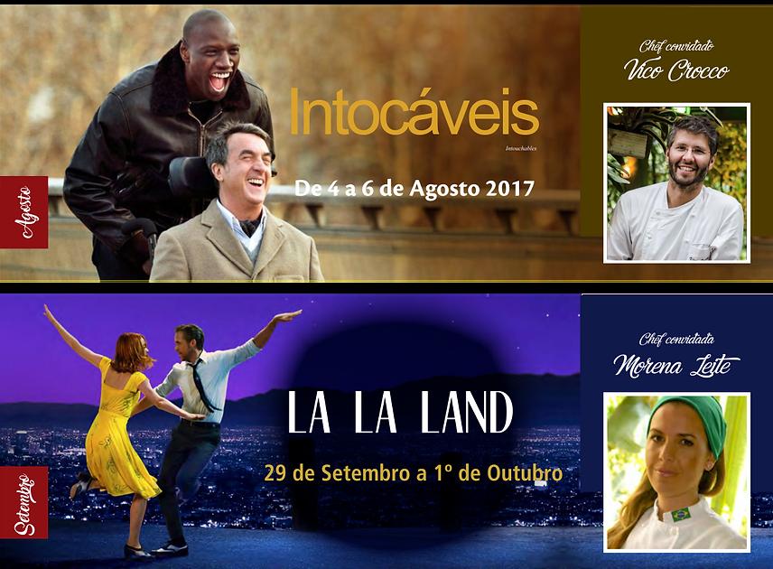 Programação Cine Gourmet 2017 Gramado RS