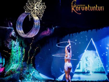 Já conhece o Espetáculo Korvatunturi?
