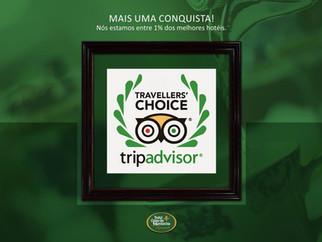 Hotel Casa da Montanha é premiado no TripAdvisor Travellers' Choice 2017!