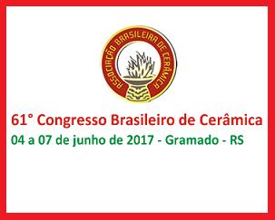 Congresso Brasileiro de Cerâmica Gramado 2017
