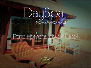 Day Spa L'Occittane Novembro Azul!