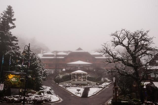 Neve em Gramado - Hotel Casa da Montanha