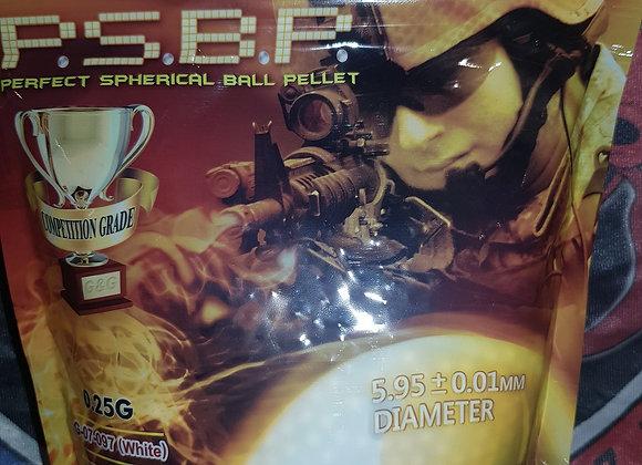 Sachet 4000 bbs 0.25g g&g