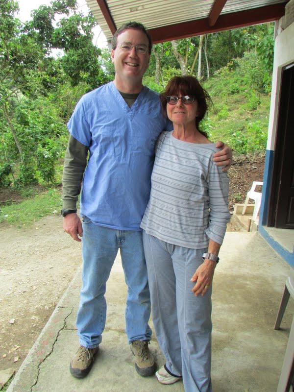 Dr. Danny Becker and Jody Becker