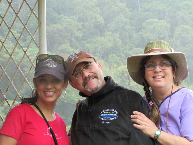 Debbie Michaels, Rabbi Aaron Rubinstein, Tresha Mandel