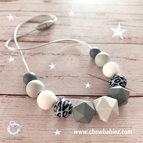 My Gray Glacier Teething Necklace