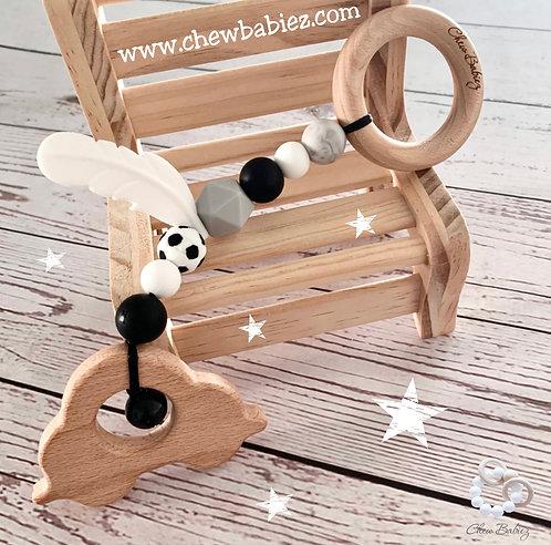 נשכן לתינוק | התפתחות התינוק | מחזיק מוצץ | צעצוע עגלה  | Chew Babiez