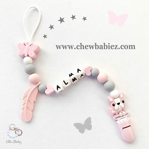 My Little Butterfly Paci Clip