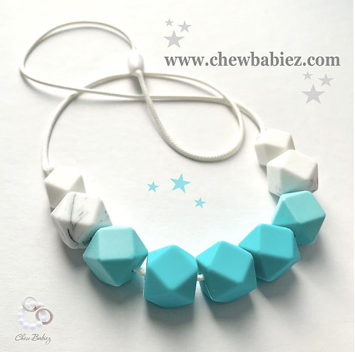 Turquoise Teething Necklace