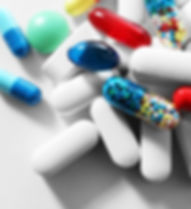 A Picture of Colorful Pharmaceutical Pills.