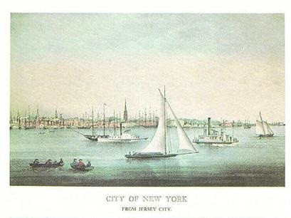 VIEWS OF NEW YORK FROM JERSEY CITY & WEEHAWKEN, NEW JERSEY