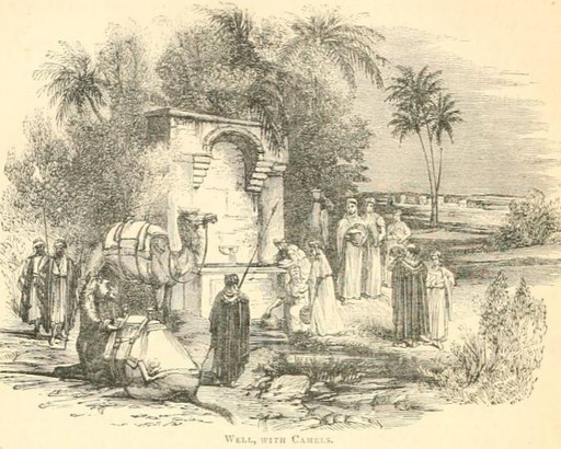 Rebekkah at the well
