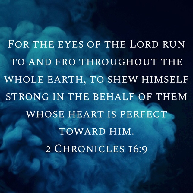 2 Chronicles 16:9
