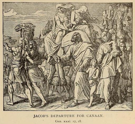 Jacob goes toward mount Gilead