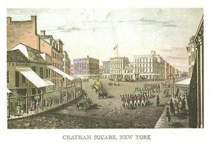 CHATHAM SQUARE, NEW YORK CITY
