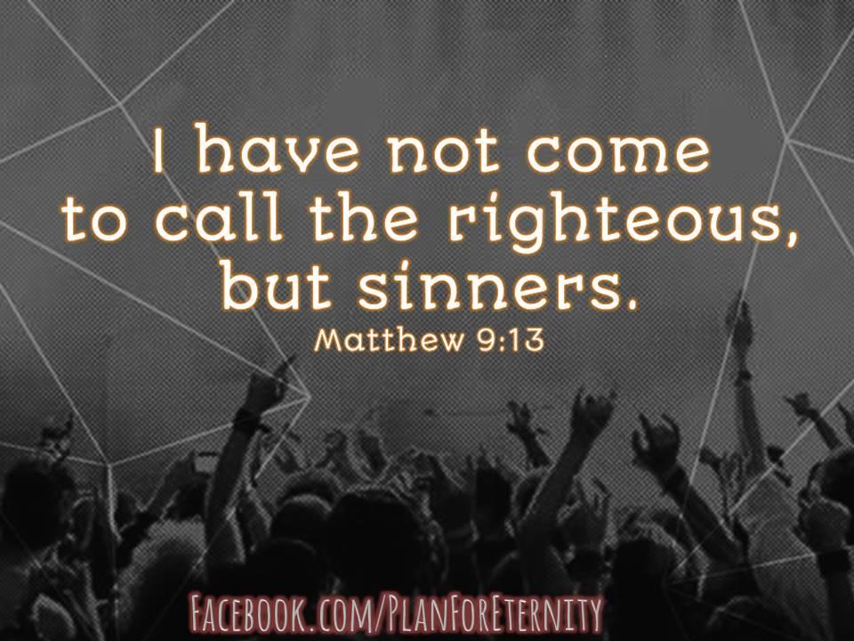 Jesus Friend of Sinners - Matthew 9:13