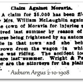 Claim Against Moravia