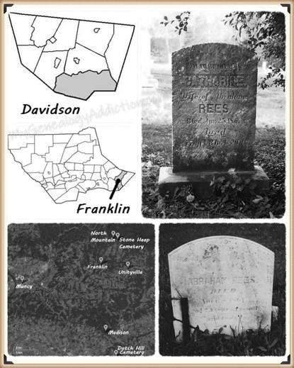 Abraham Reese Sr & Catherine (George) Reese burial