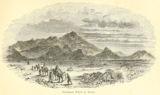 Israel on Mount Sinai